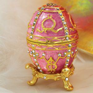 Serafina Jewellery Pink Egg & Pendant